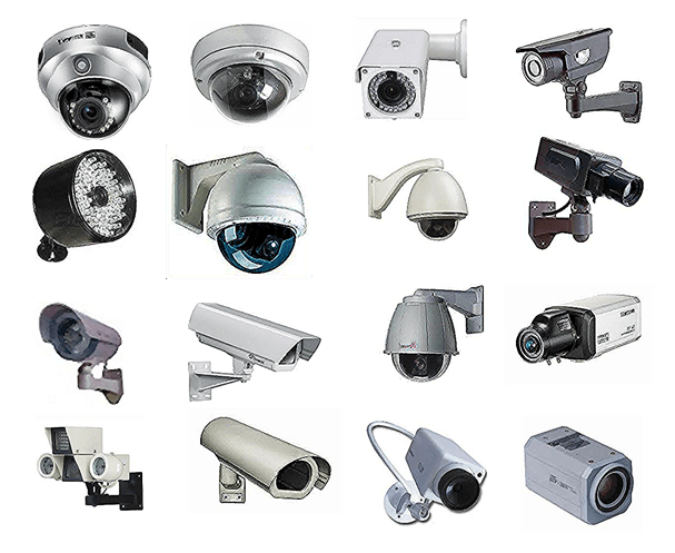 Different CCTV Cameras - The different types of CCTV cameras